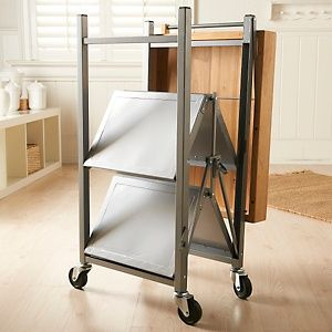 Origami Folding Kitchen Island Cart at HSN.com | Product ...