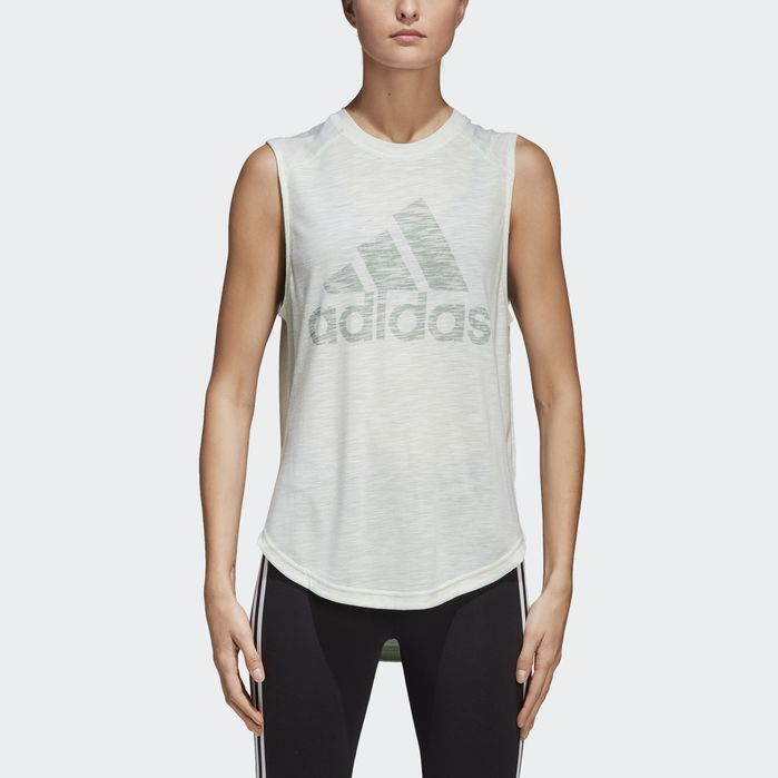 ID Winners Ärmelloses T-Shirt #Adidas #ärmelloses #Blau #Fitness Training women #TShirt #Winners