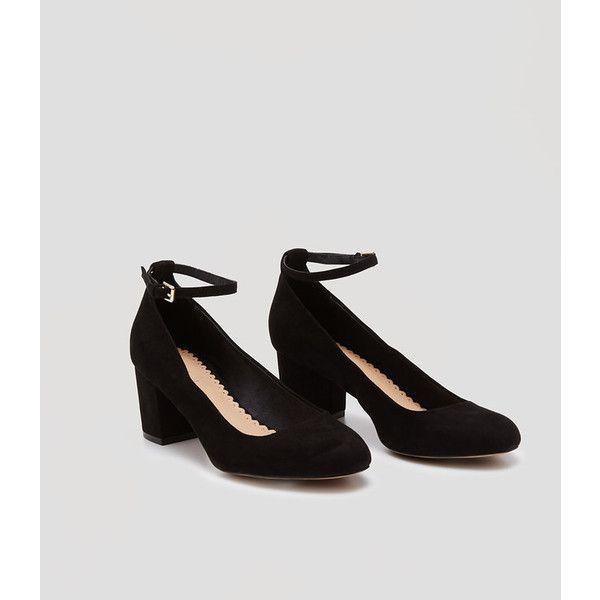 LOFT Ankle Strap Block Heels   Ankle