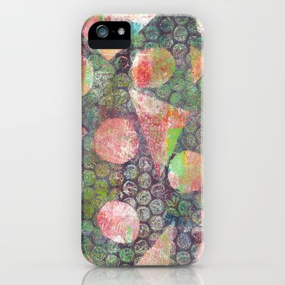 Gel Print 3 iPhone Case by Rachel Winkelman - $35.00