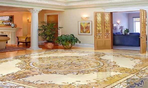 سيراميك القصور صيحة جديدة في عالم المنزل Marble Flooring Design Interior Design Furniture Floor Design