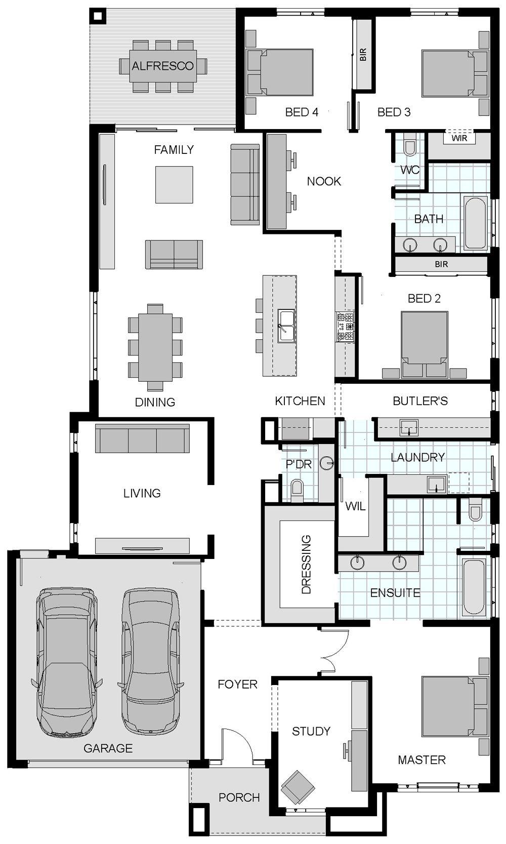Master Bedroom Suite Floor Plans Floorplan Home Designs Pinterest Bedroom Suites Back To