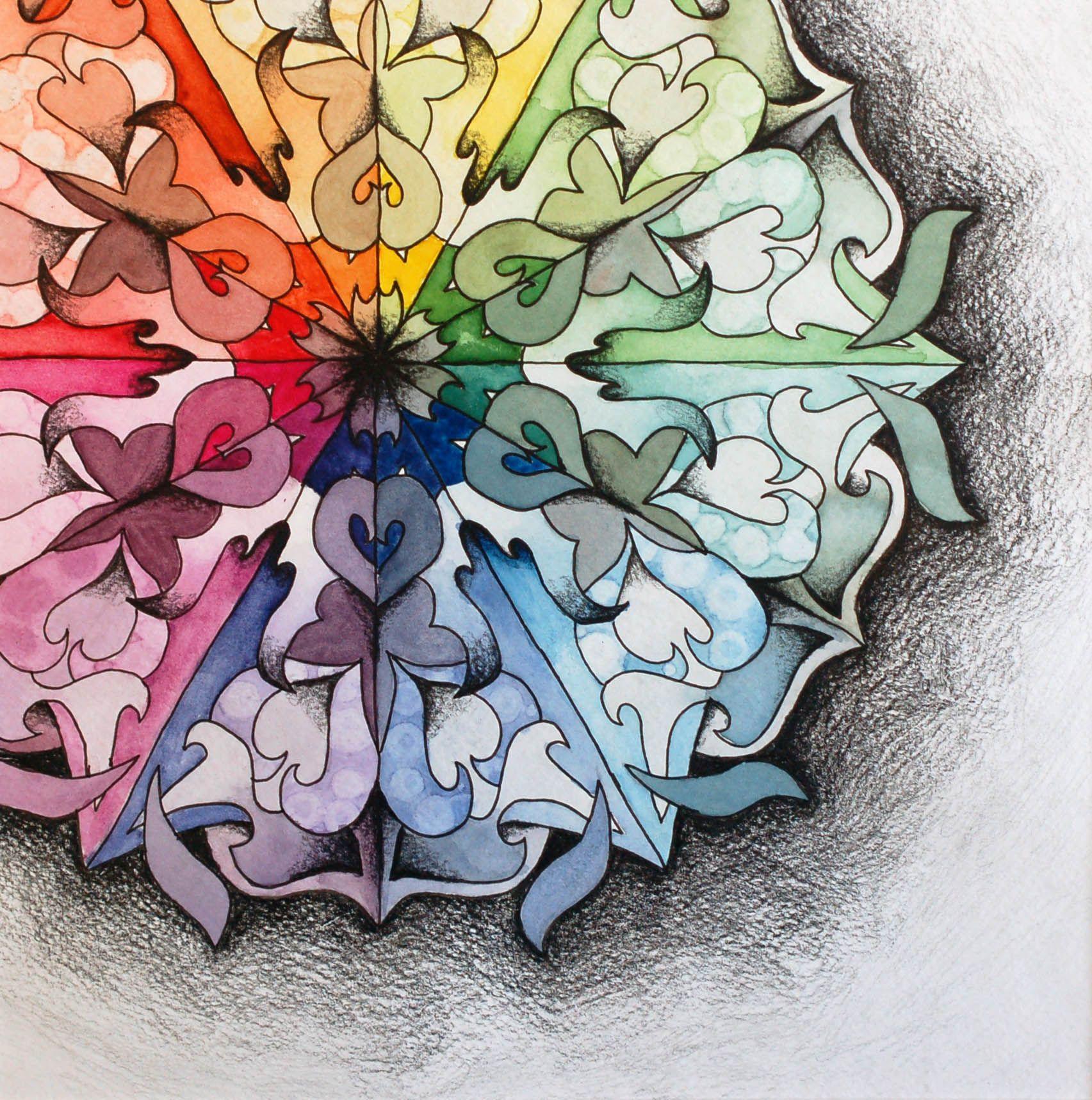 Creative Color Wheel Designs Google Search Color Pop Art