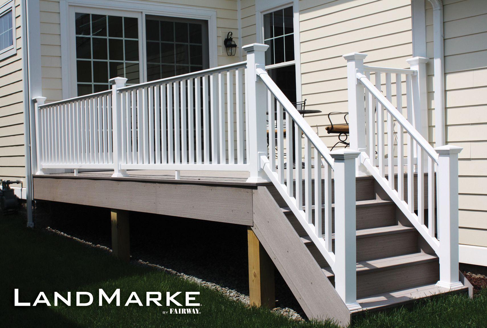 Porch and deck railing vinyl composite aluminum railing porch and deck railing vinyl composite aluminum railing systems specialty railing systems railing baanklon Images