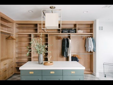 Webisode Reveal Riverbottom Master Closet Laundry Room STUDIO MCGEE
