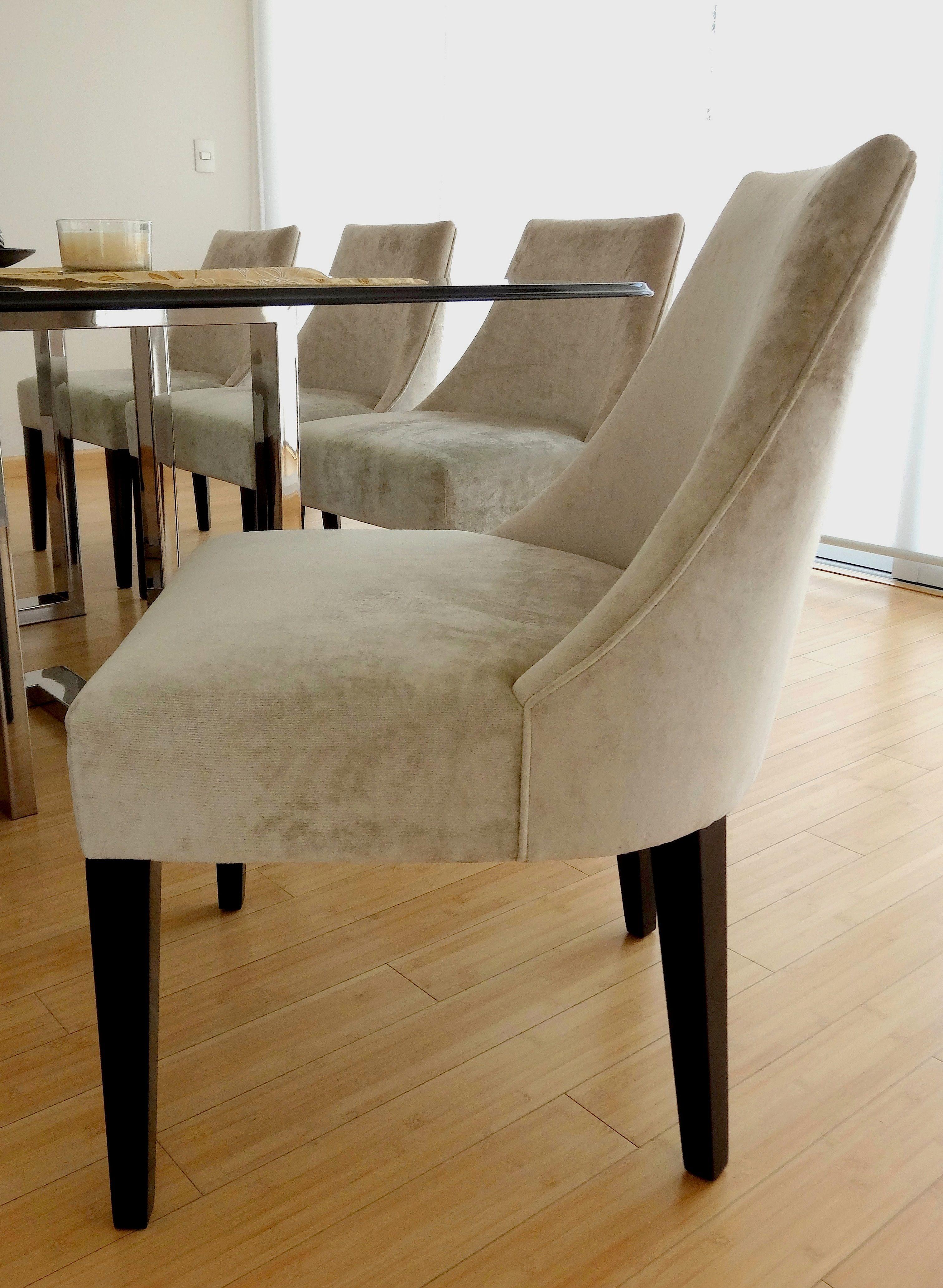 Silla florencia de la colecci n europa livingdesign for Muebles mesas y sillas de comedor