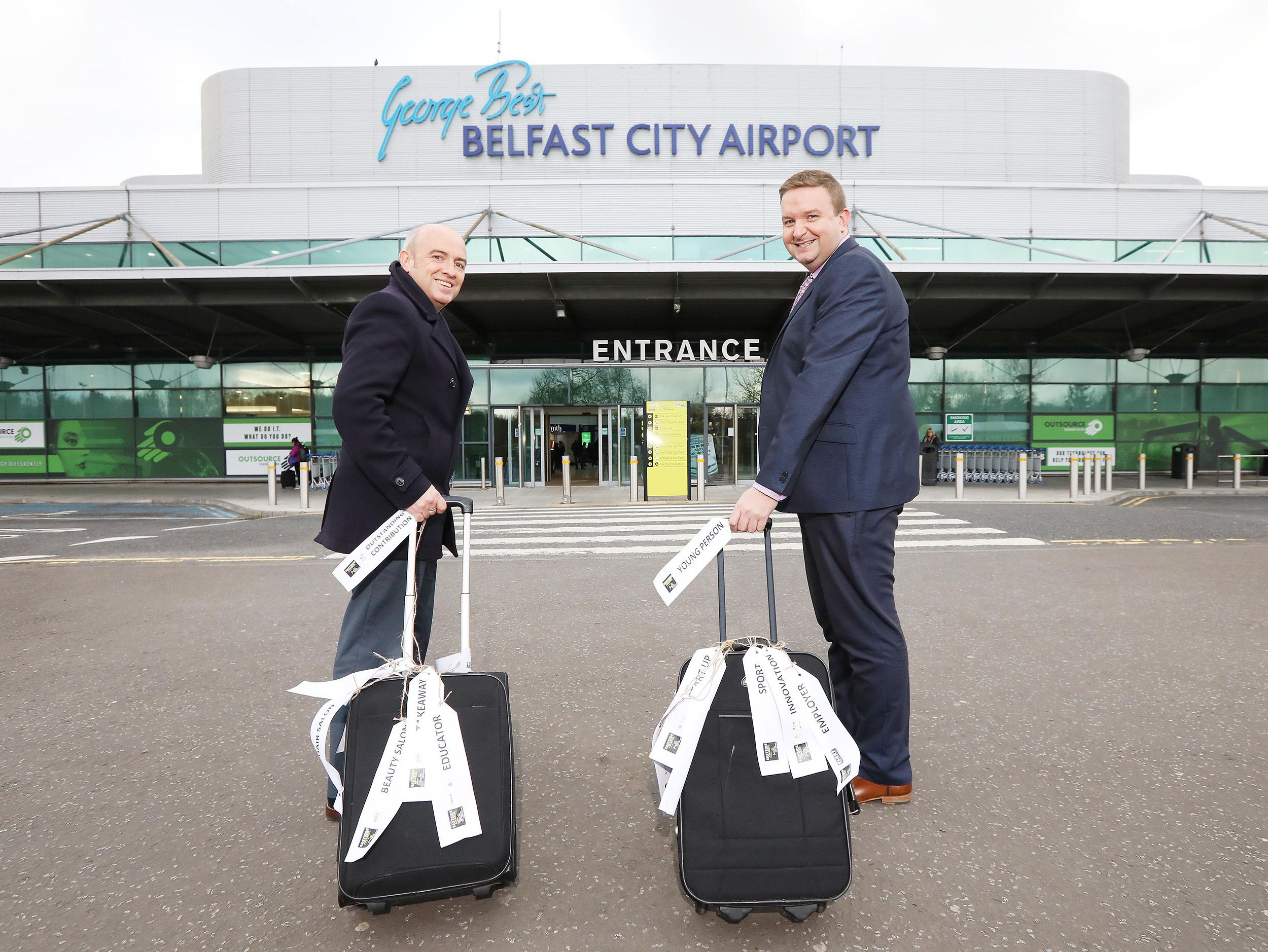Belfast City Airport sponsors the Eastside Awards for the
