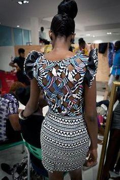 Nice back design