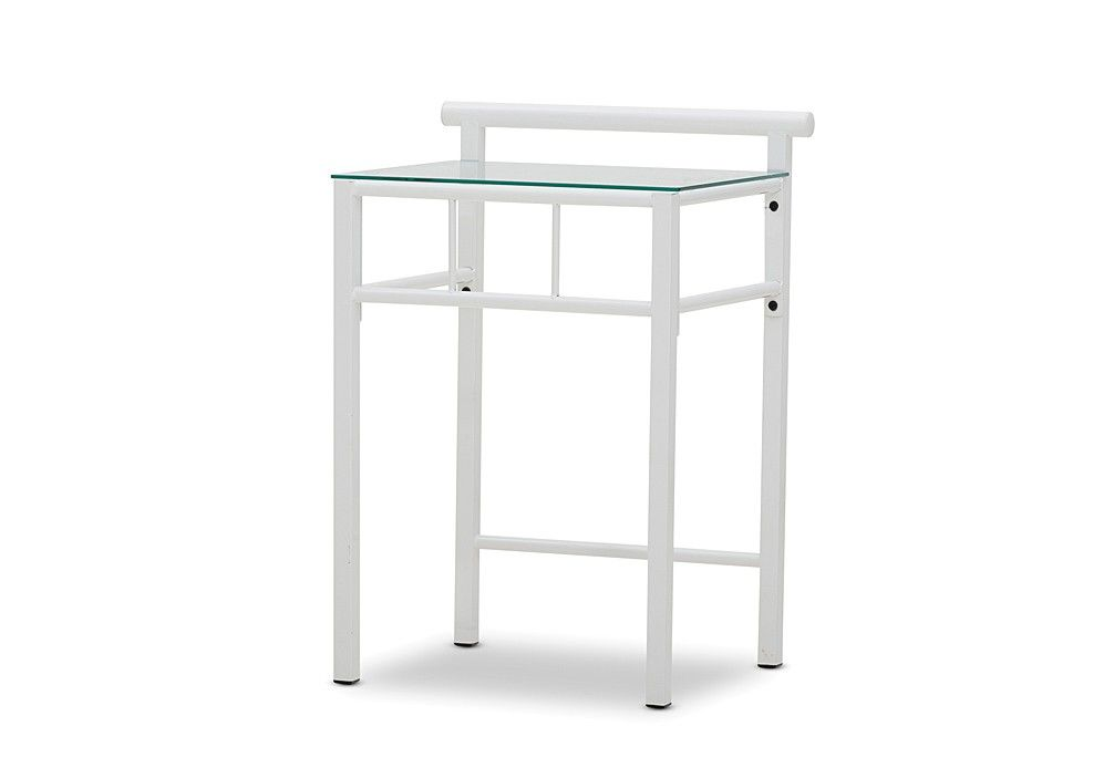 Best Ferris Tempered Glass Table Top Bedside Table Furniture 640 x 480