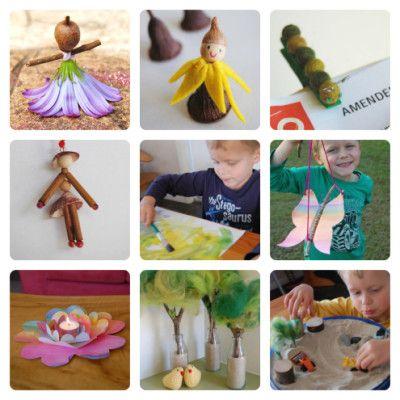 30 Fabulous Kids Nature Crafts Httpparentingfuneveryday