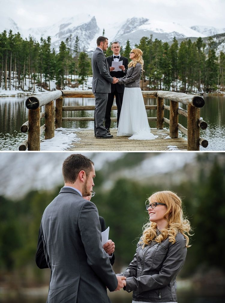 Savannah & Zach • Sprague Lake Elopement • Rocky Mountain