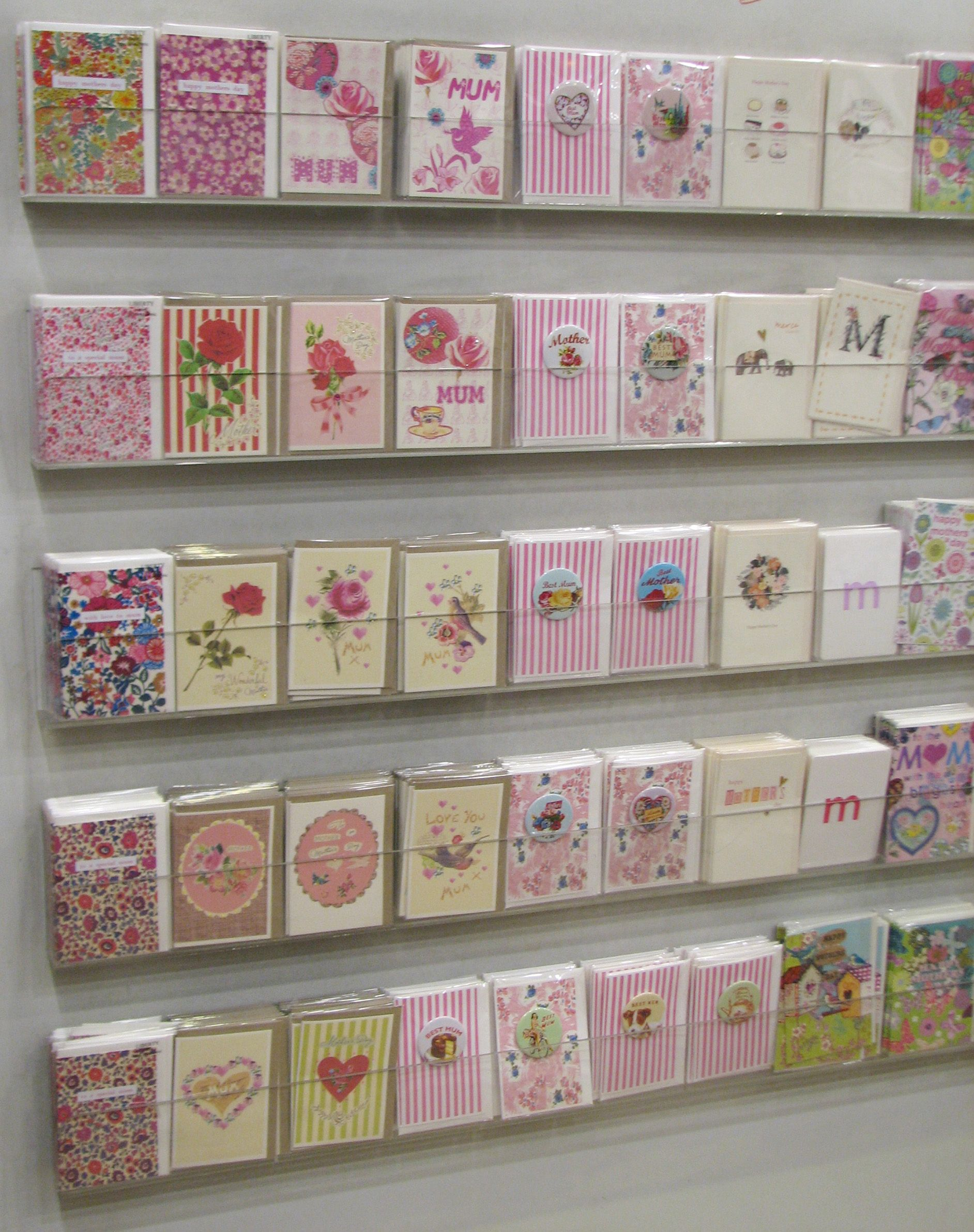 Lovely greetings card display | expo stand | Pinterest ...