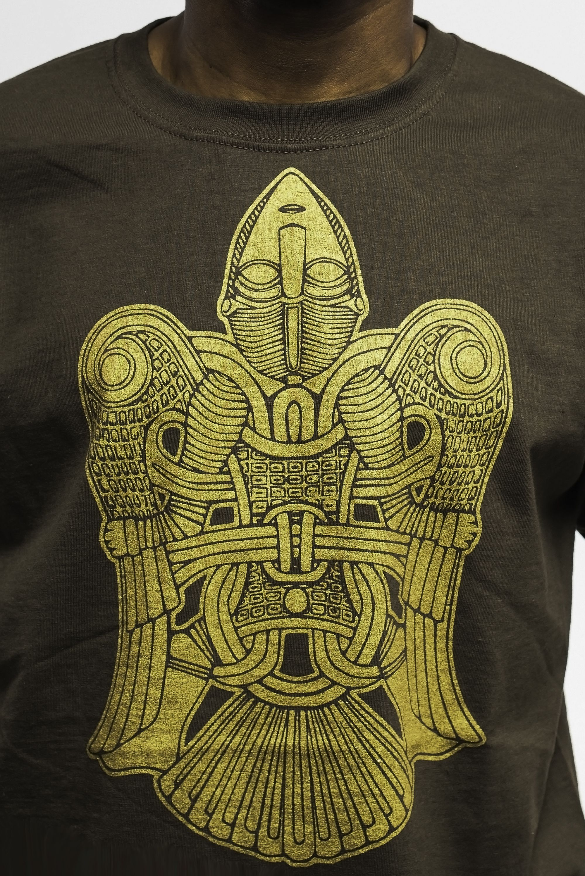Brown t-shirt  #angel #viking