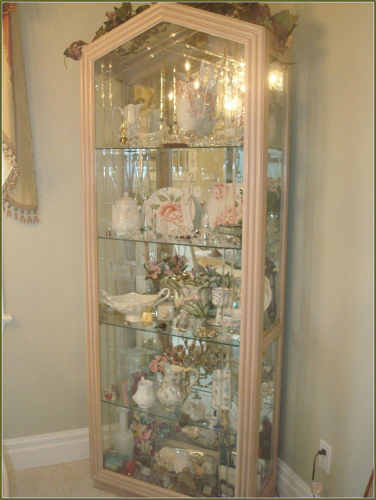 Delightful White Curio Cabinet Glass Doors (1214×1614)