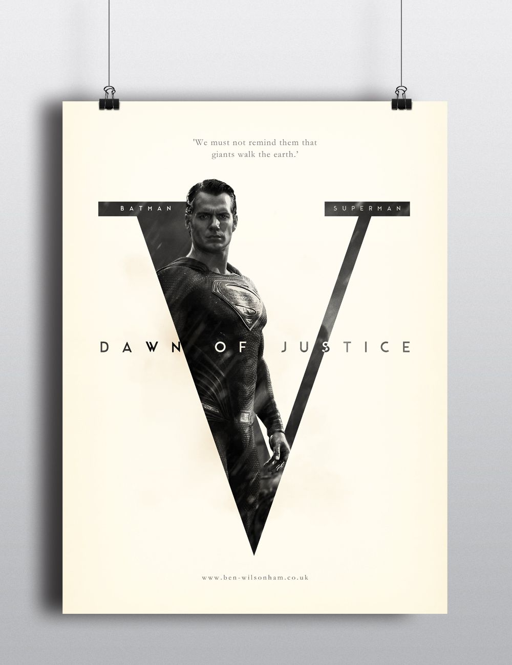 Quick poster design - Quick Poster Design For Batman V Superman Dawn Of Justice Superman Variant Www