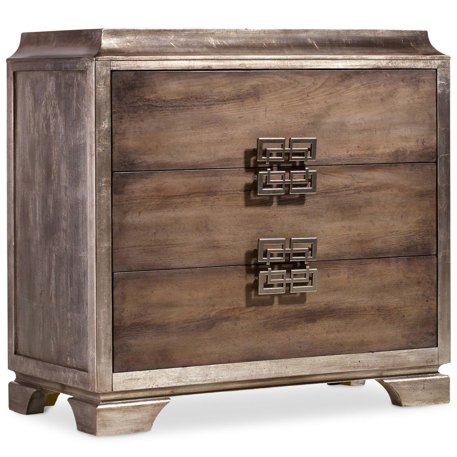 Hooker Furniture 638 85136 Melange Lambert Chest In Medium Wood
