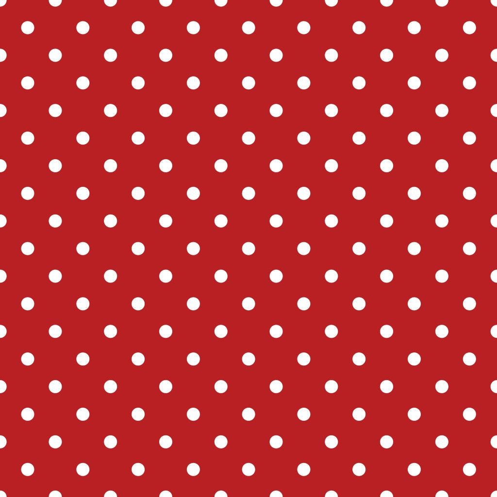 Decoupage Patriotic Scrapbook Paper Red White Polka Dots