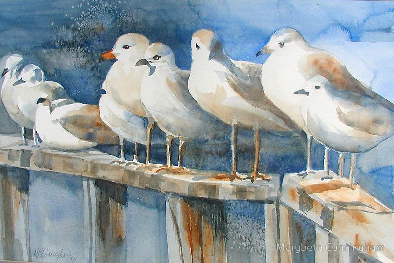 """""""Birds of a Feather"""" by Marybeth Cunningham 