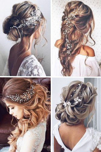 #wedding hair with flowers #long wedding hair dos #wedding hair styles simple #b… – Hochzeitskleid
