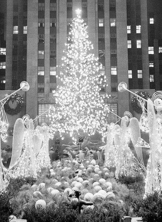 This is What The Rockefeller Christmas Tree Looked Like