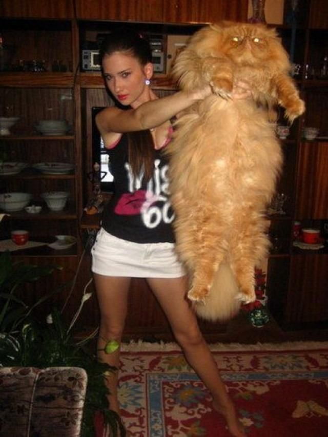 She has a big hairy pussy.