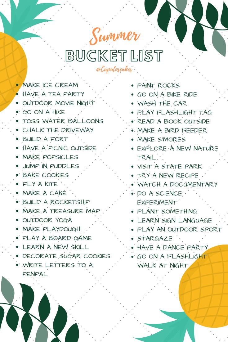 , FREE DOWNLOAD Summer Bucket List – Caputo's Cakes, MySummer Combin Blog, MySummer Combin Blog