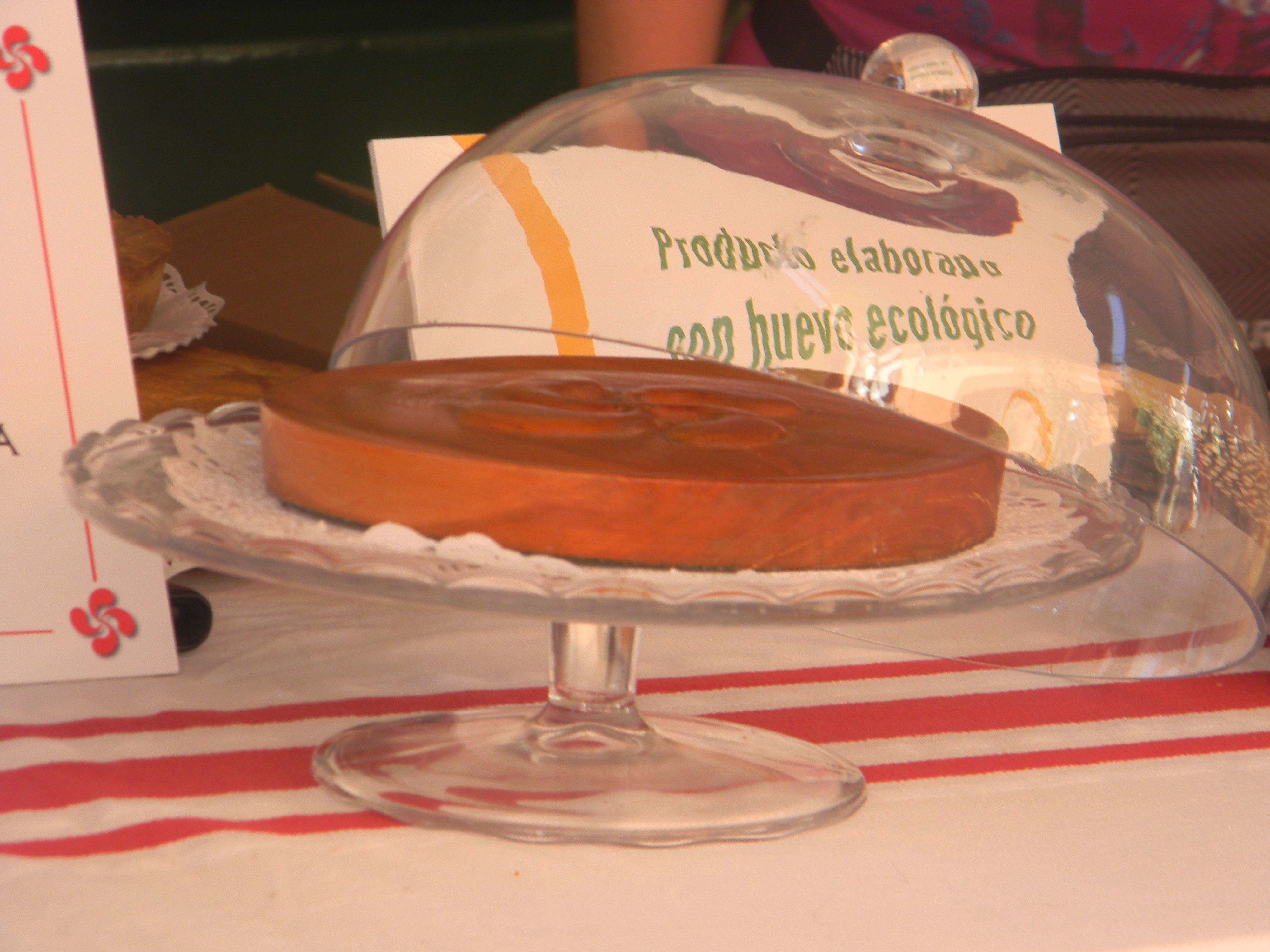 Nuestro delicioso Pastel Vasco