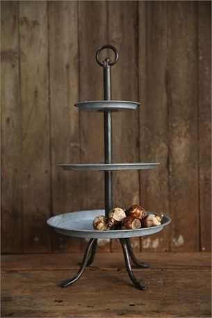 The Rhonda 3 Tier Metal Tral Tiered Stand Three Tier Tray Tiered Tray
