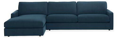 Easton Sofas with Chaise - Sectionals - Living - Room & Board $2700