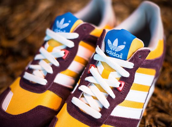 adidas Originals ZX 700 - Maroon - Yellow - White - SneakerNews ...
