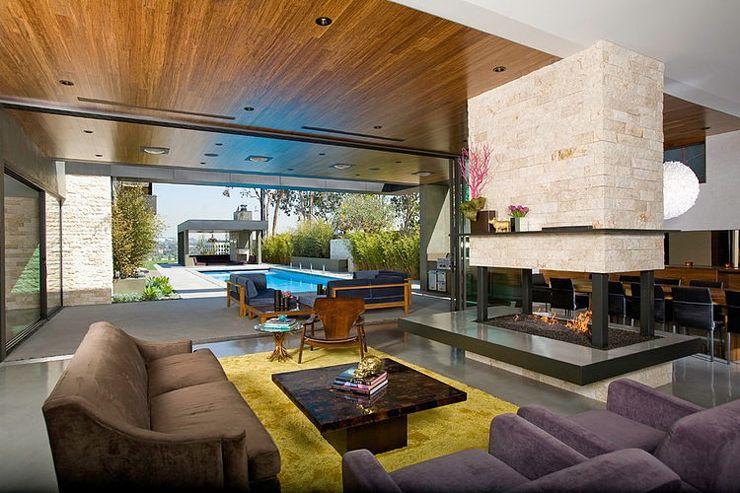 Superbe maison d\'architecte à Los Angeles | Architectes, Banlieue ...