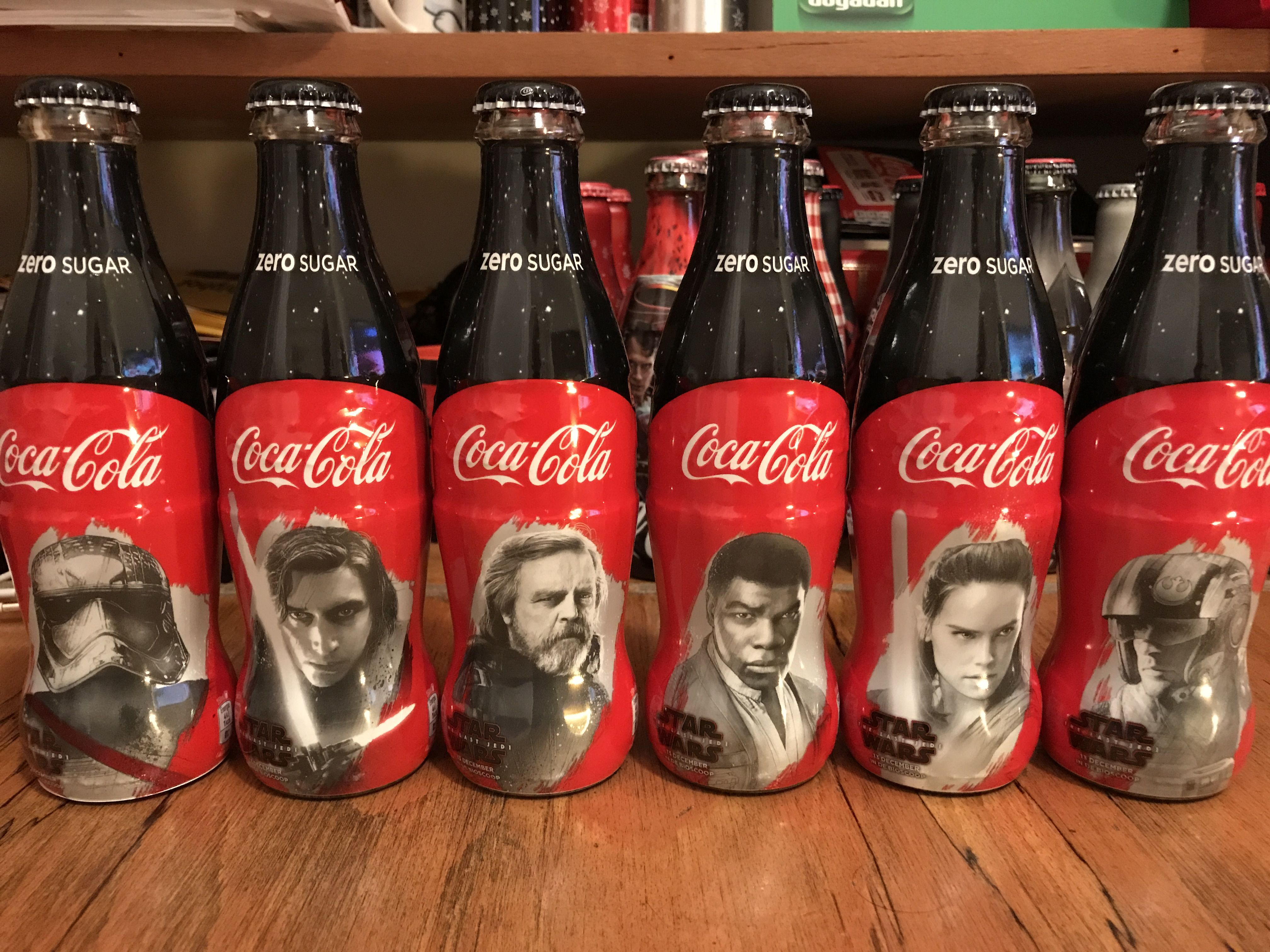 Image result for coca cola puzzle game for star wars bottles