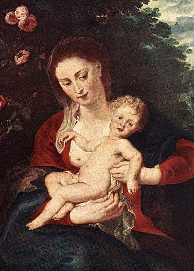 Peter Paul Rubens, (1577–1640): María y el Niño.