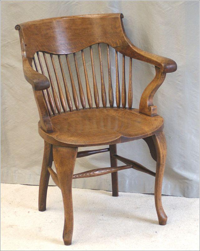 Antique Oak Desk Chair - Antique Oak Desk Chair .in Time Design. Pinterest Desks And