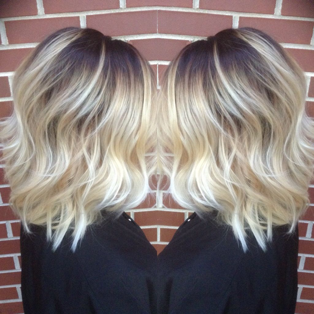 choppy hair styles roots into light ash done by me pinteres 2900