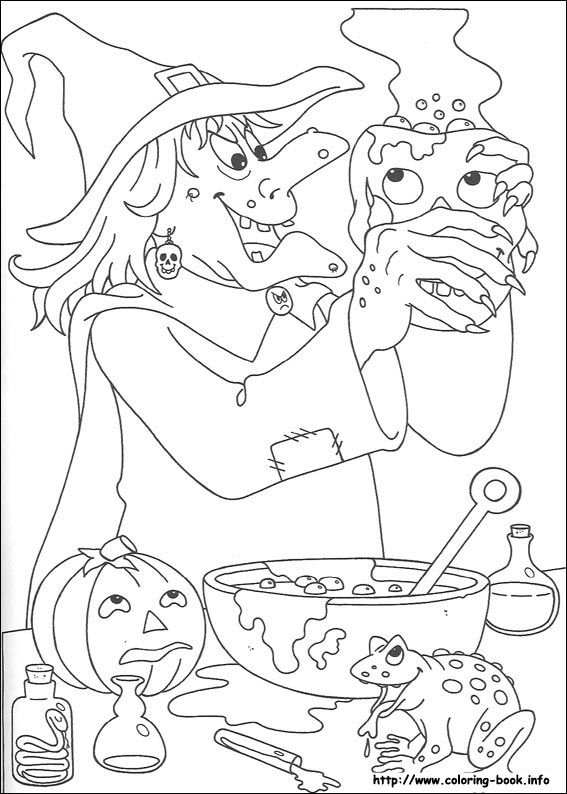 Halloween Coloring Picture Halloween Coloring Sheets Halloween Coloring Pages Halloween Coloring Book