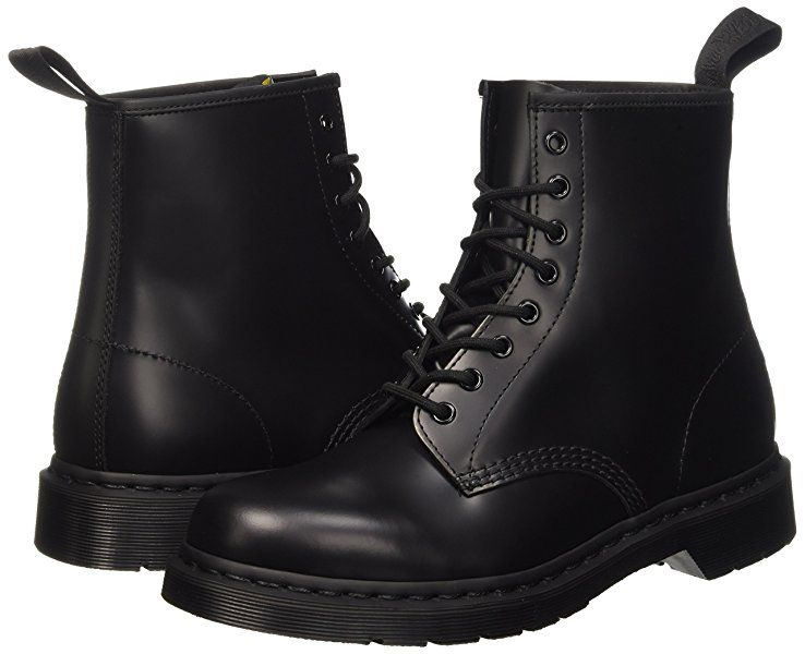 399eed47f Amazon.com | Dr. Martens Unisex 1460 8-Tie Lace-Up Boot, Black Smooth, UK 5  ( 7) M US | Motorcycle & Combat