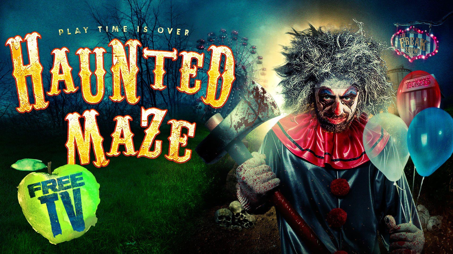 HAUNTED MAZE in 2020 Haunted maze, Halloween festival