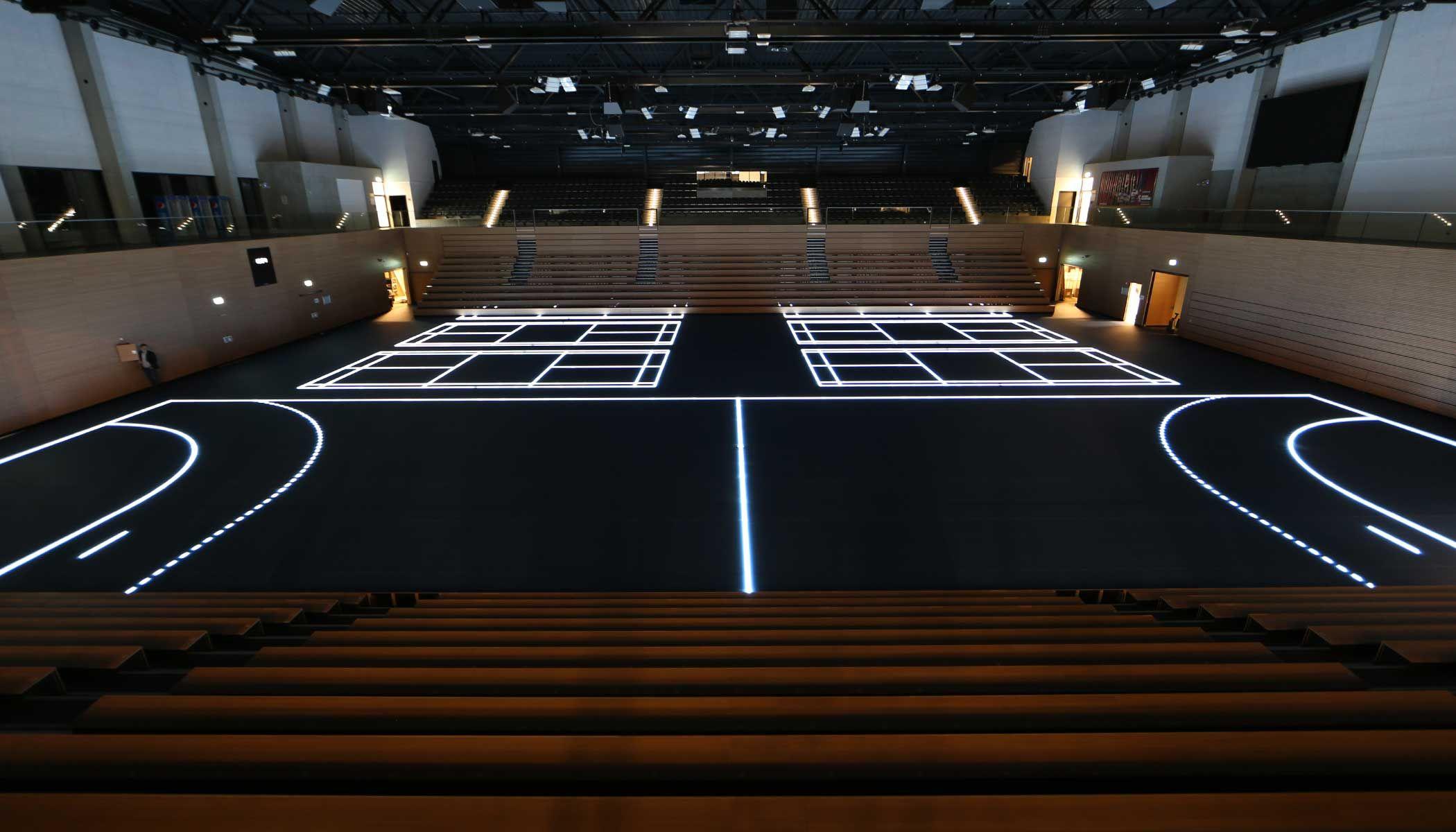 Innovative Design in Sport Dresden's Ballsport Arena by