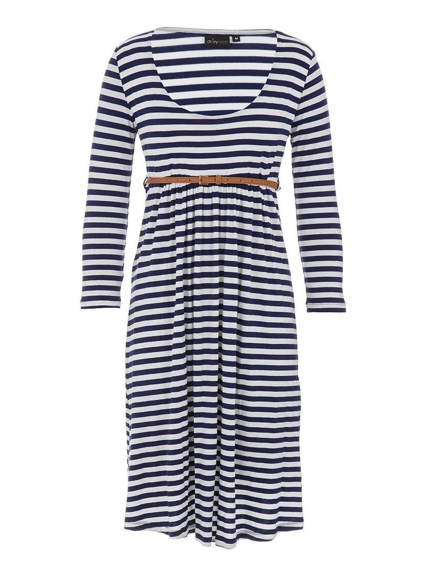 Striped dress Blue/White