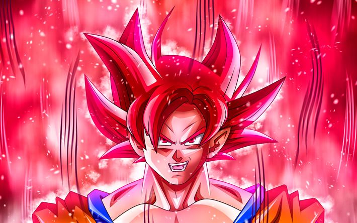 Download Wallpapers Super Saiyan Red 4k Art Dragon Ball Dbs Red Goku Super Saiyan God Dragon Ball Super Goku Red Besthqwallpapers Com Goku Wallpaper Dragon Ball Wallpapers Anime Wallpaper