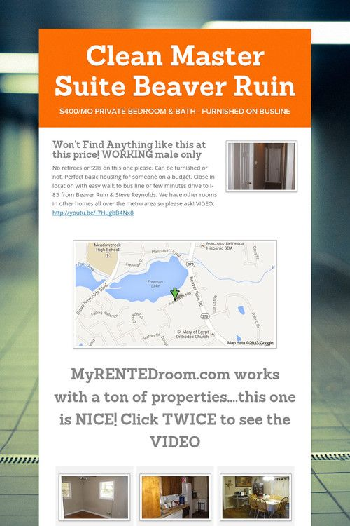 Clean Master Suite Beaver Ruin Cleaning Master Master Suite Master