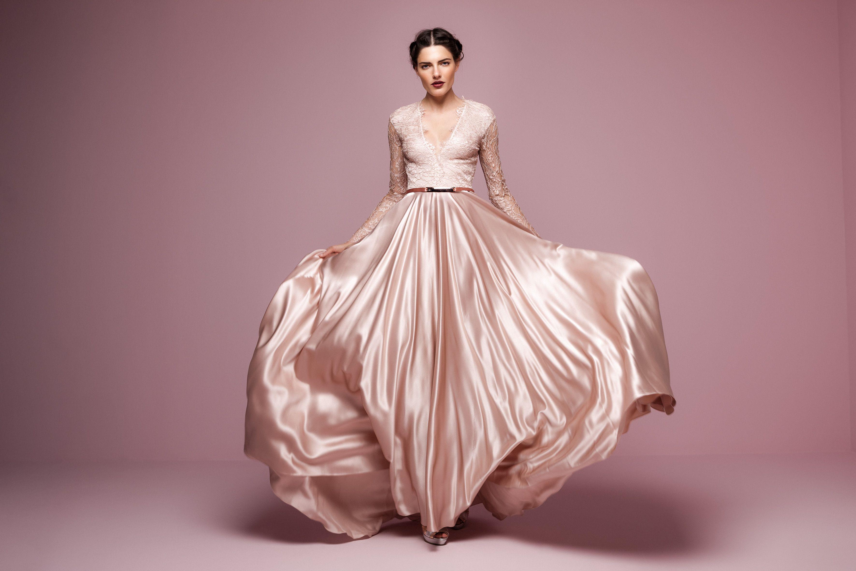Daalarna dress in rose wedding dress pinterest flower wedding