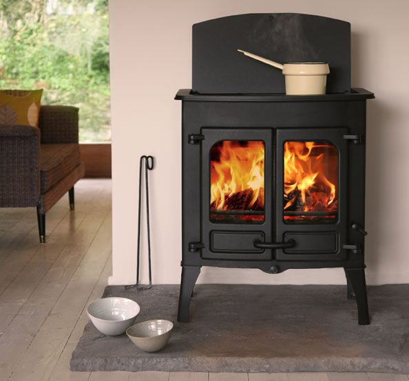 Charnwood Island II CT Cooking  Top Stove at Stove World Glasgow. http://www.stove-world.com