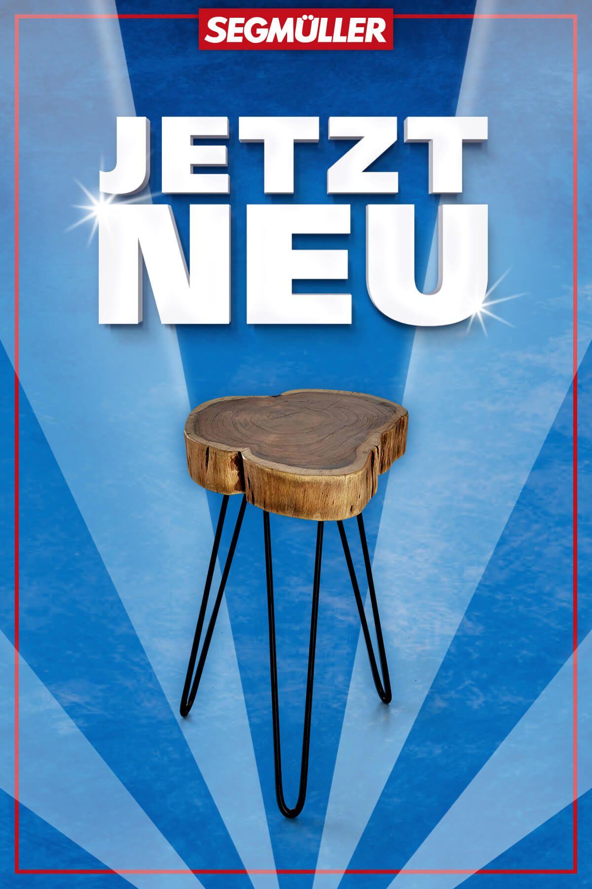 Tischplatte Aus Massiver Und Geolter Akazie Gestell Aus Stahl In Lack Schwarz Breite 32 00 Cm Hohe 45 00 Cm Tiefe 3 In 2020 Tisch Beistelltisch Einrichtungsideen