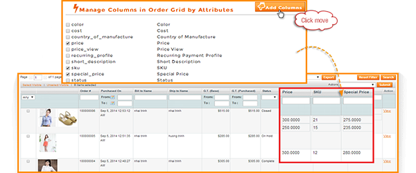Magento add column in orders grid