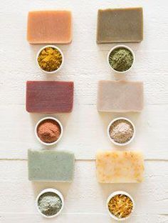 Natural Soap Colourants - How Naturally Colour Cold Process Soap #soappackaging