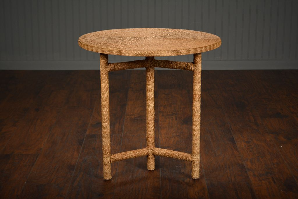 Round Braided Seagrass Side Table Also Available As Round Braided Seagrass  Coffee Table