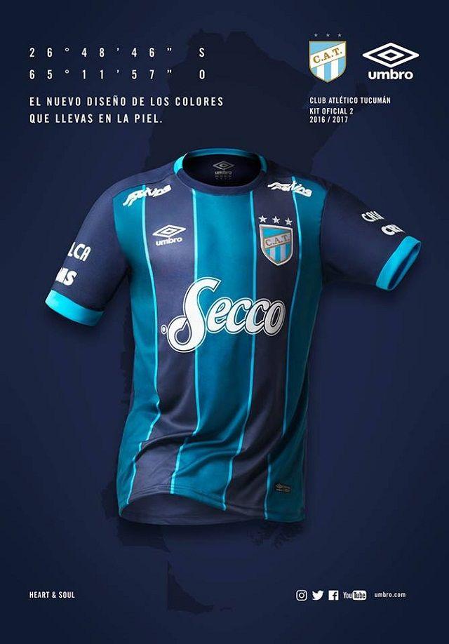 Camisas do Club Atletico Tucumán 2016-2017 Umbro  f4f613d5a1771