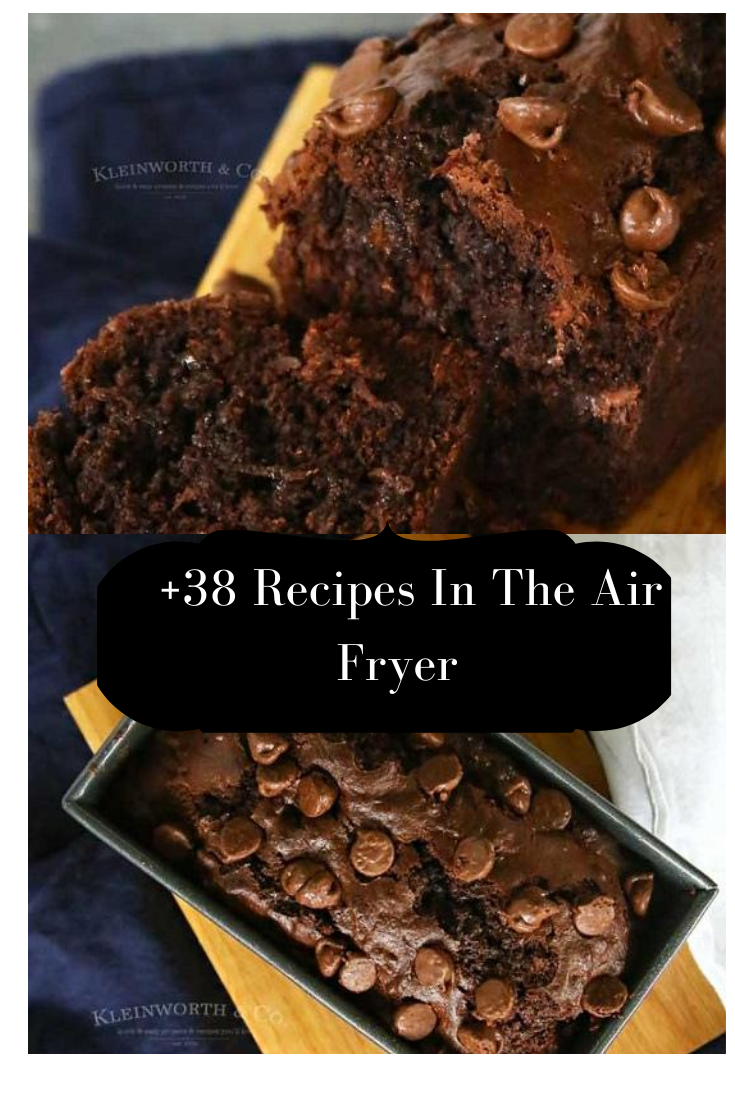 Air Fryer Chocolate Cake in 2020 Easy no bake desserts